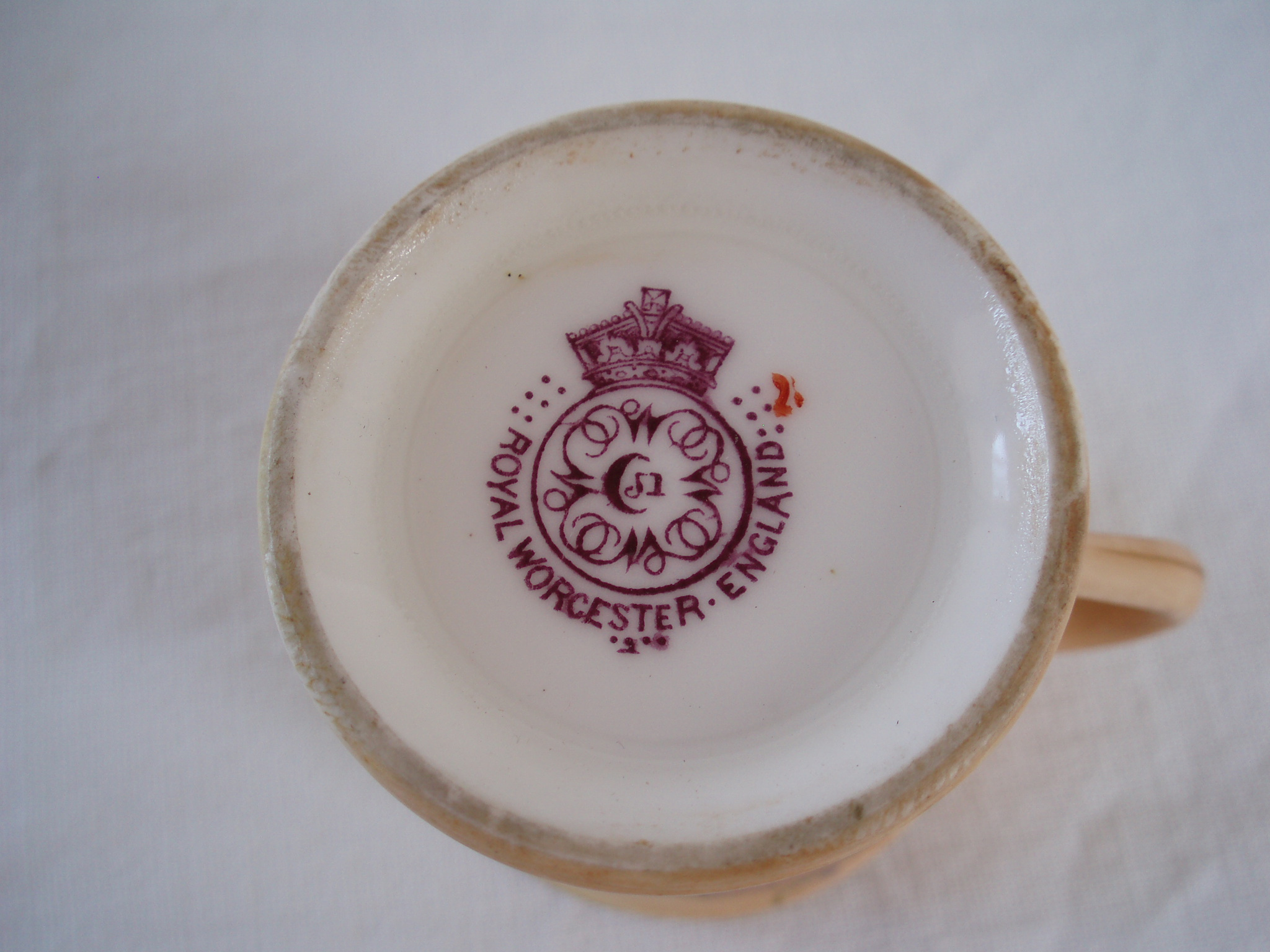 Dating Royal Worcester 1867 to 1927